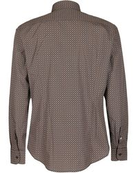 Ferragamo Long Sleeved Sport Shirt - Multicolour