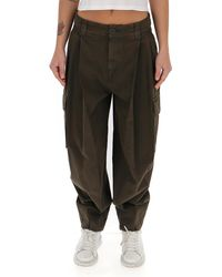 See By Chloé Tapered Cargo Trousers - Brown