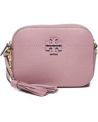 Tory Burch Mcgraw Camera Bag - Pink