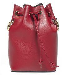 Fendi Mon Tresor Mini Bucket Bag - Red