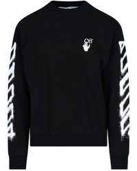 Off-White c/o Virgil Abloh Marker Arrows Sweatshirt - Black