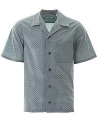 KENZO Tiger Print Bowling Shirt S Cotton - Multicolour