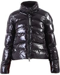 Pinko Quilted Down Jacket - Black