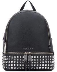 MICHAEL Michael Kors Rhea Large Backpack - Black