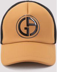Giorgio Armani Logo Print Baseball Cap - Multicolour