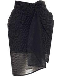 Balmain Other Materials Skirt - Black