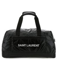Saint Laurent Duffle Bag - Mens - Black