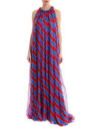 Philosophy Di Lorenzo Serafini - Striped Maxi Dress - Lyst