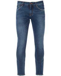Dolce & Gabbana Slim-fit Denim Jeans - Blue