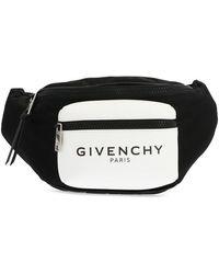 Givenchy Glow In The Dark Nylon Fanny Pack - Black
