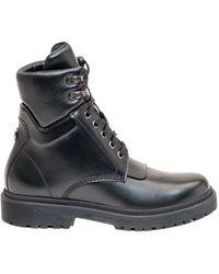 Moncler Patty Combat Boots - Black