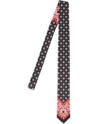 Dolce & Gabbana Monogram Print Tie - Black