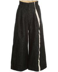 Uma Wang Trousers Black
