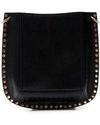 Isabel Marant Studded Satchel Bag - Black