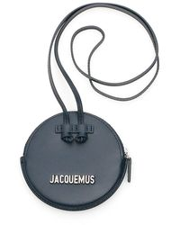 Jacquemus Pitchou Leather Coin Purse - Blue