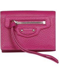 Balenciaga - Neo Classic Mini Wallet - Lyst