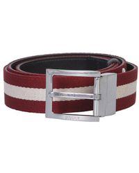 Bally Reversible Tonnil Belt - Brown