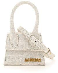 Jacquemus Le Chiquito Mini Crossbody Bag - Natural