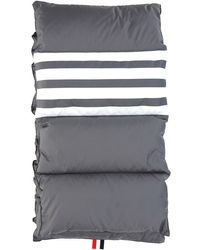 Thom Browne 4-bar Quilted Scarf - Gray