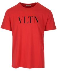 Valentino Logo T-shirt - Red