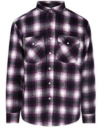Noon Goons Chequered Button-down Shirt - Purple