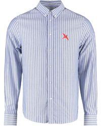 Axel Arigato Cotton Button-down Shirt - Blue