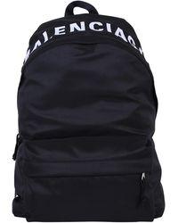 Balenciaga Wheel Backpack - Black