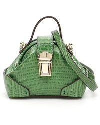 MANU Atelier Micro Demi Crossbody Bag - Green