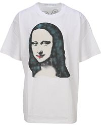 Off-White c/o Virgil Abloh Monalisa T-shirt - White