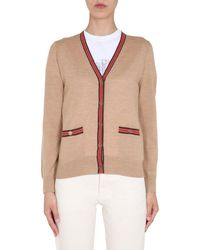 Tory Burch Madeline Cardigan - Natural