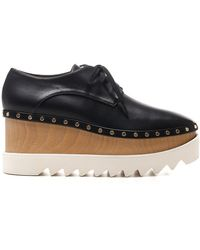 Stella McCartney Elyse Platform Lace-up Shoes - Black