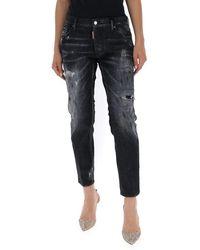 DSquared² - Faded Boyfriend Jeans - Lyst