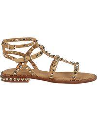 Ash Precious Gladiator Sandals - Brown