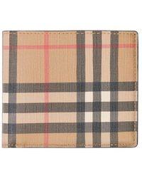 Burberry Vintage Check Bifold Wallet - Multicolour