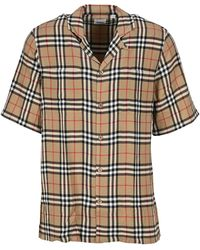 Burberry Vintage Check Short-sleeved Shirt - Multicolour