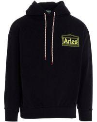 Aries Hands Off Hoodie - Black