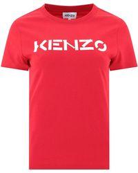 KENZO Logo T-shirt - Red
