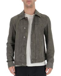 DESA NINETEENSEVENTYTWO Button-up Jacket - Grey