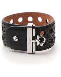 Ferragamo - Laser-cut Gancini Bracelet - Lyst