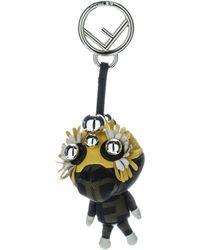 Fendi Space Monkey Bag Charm - Yellow