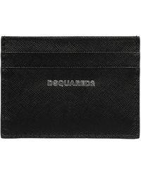 DSquared² Logo Printed Cardholder - Black