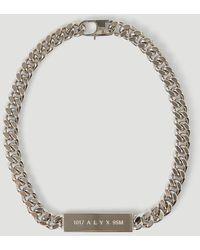 1017 ALYX 9SM Id Necklace - Metallic
