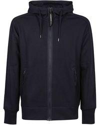 C.P. Company Cotton Sweatshirt - Blue