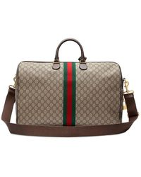 Gucci Large Ophidia GG Supreme Carry-on Bag - Natural