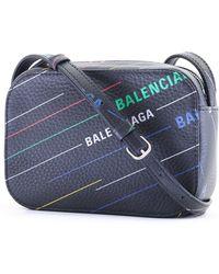 Balenciaga - Everyday All-over Print Crossbody Bag - Lyst