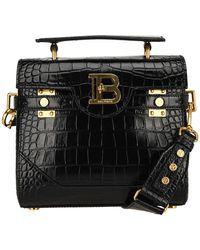 Balmain B-buzz 23 Shoulder Bag - Black