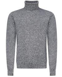 Dolce & Gabbana Turtleneck Jumper - Grey