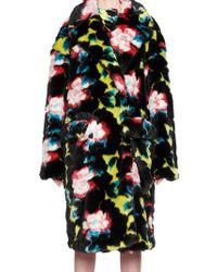 KENZO - Floral Coat - Lyst