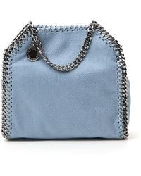 Stella McCartney Falabella Tiny Tote Bag - Blue