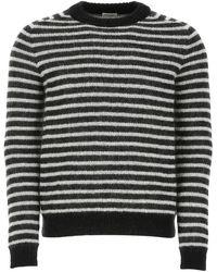 Saint Laurent Striped Sweater - Multicolor